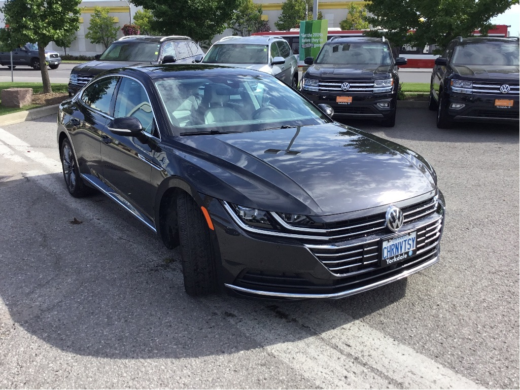 Certified Pre-Owned 2019 Volkswagen Arteon 2.0T 8sp at w/ Tip 4MOTION