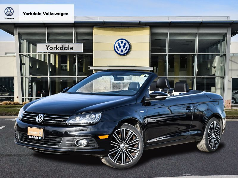 Certified Pre-Owned 2015 Volkswagen Eos Wolfsburg Edition 2.0T 6sp DSG at w/ Tip