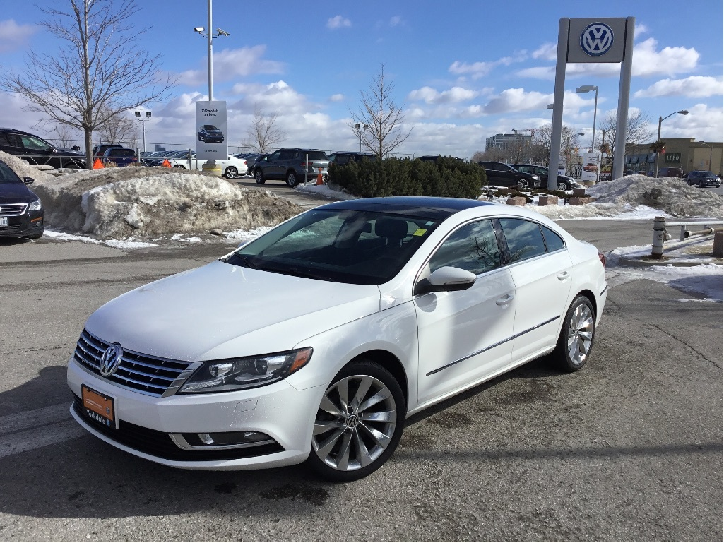 Certified Pre-Owned 2013 Volkswagen CC Highline 2.0T 6sp DSG Tip