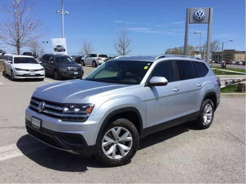 Certified Pre-Owned 2018 Volkswagen Atlas Trendline 2.0T 8sp at w/Tip