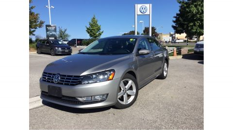 Certified Pre-Owned 2012 Volkswagen Passat Comfortline 2.0 TDI 6sp DSG at w/ Tip