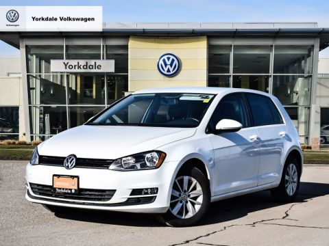 Certified Pre-Owned 2015 Volkswagen Golf 5-Dr 2.0 TDI Trendline DSG at Tip