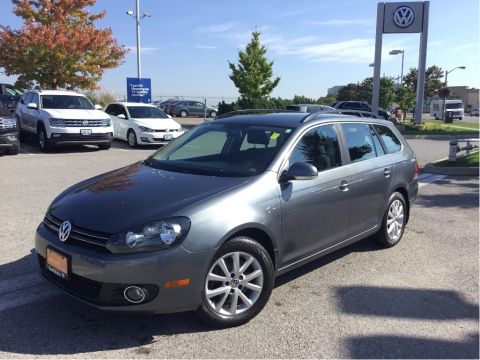 Certified Pre-Owned 2013 Volkswagen Golf Wagon 2.0 TDI Comfortline 6sp